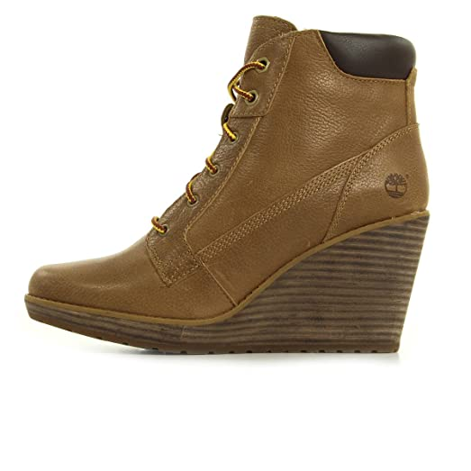 TIMBERLAND SHOES-MERIDEN LACE ANKLE WHEAT A11YS-T SIZE 8 US