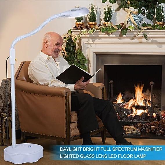 Lámpara Lupa LED, Estética de aumento lupa con luz brillante para ...