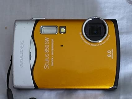 amazon com olympus stylus 850 sw 8mp shockproof waterproof digital rh amazon com Olympus Stylus 35Mm Camera olympus stylus 850 sw manual pdf