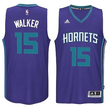Kemba Walker Charlotte Hornets  15 Purple NBA Youth Swingman Road Jersey  (Small 8) 659905b3a