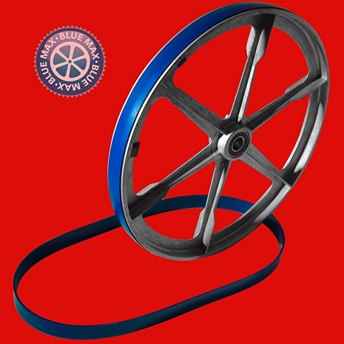 """2 BLUE MAX URETHANE BAND SAW TIRES AND 1//4/"""" BAND SAW BLADE FOR SKIL 3385 SKILL"""