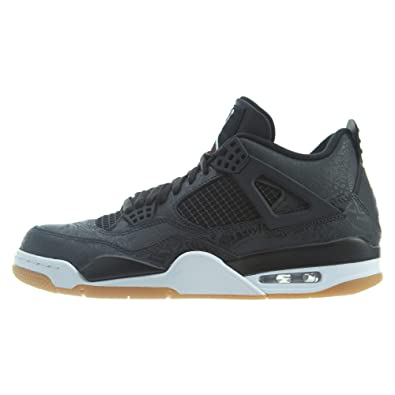 innovative design 4be93 26db0 Air Jordan 4 SE Retro  Laser  Black White-Gum Light Brown (