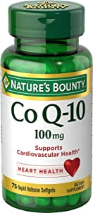 Natures Bounty CoQ10 100 mg 75 Softgels