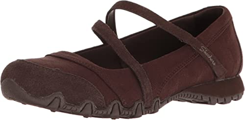 Skechers Bikers Get up, Mary Janes Femme