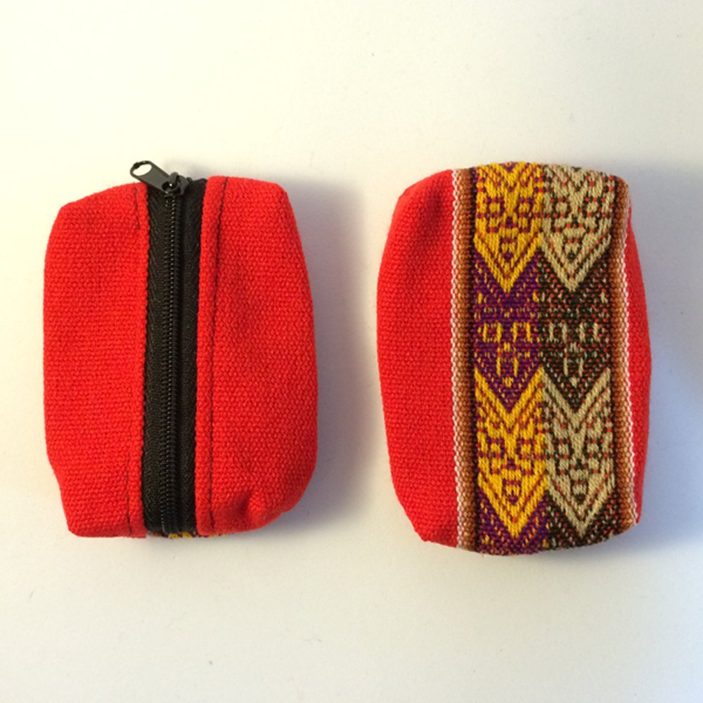 Monedero aguayo étnico andino originario de Argentina bolso cartera cremallera: Amazon.es: Zapatos y complementos