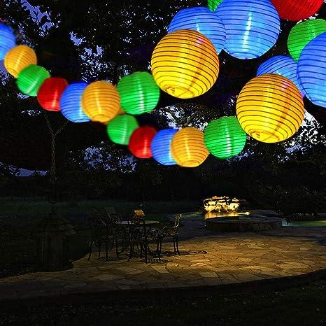 Tischdeko für Innen /& Außen Solarbeleuchtung für den Garten 2 LED Stehlampen
