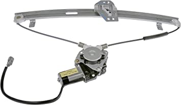Dorman 751-052 Rear Driver Side Power Window Regulator and Motor Assembly for Select Acura Models