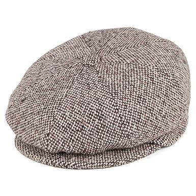 0bc9918c Bailey Hats Galvin Tweed Newsboy Cap - Brown 2XLARGE: Amazon.co.uk: Clothing