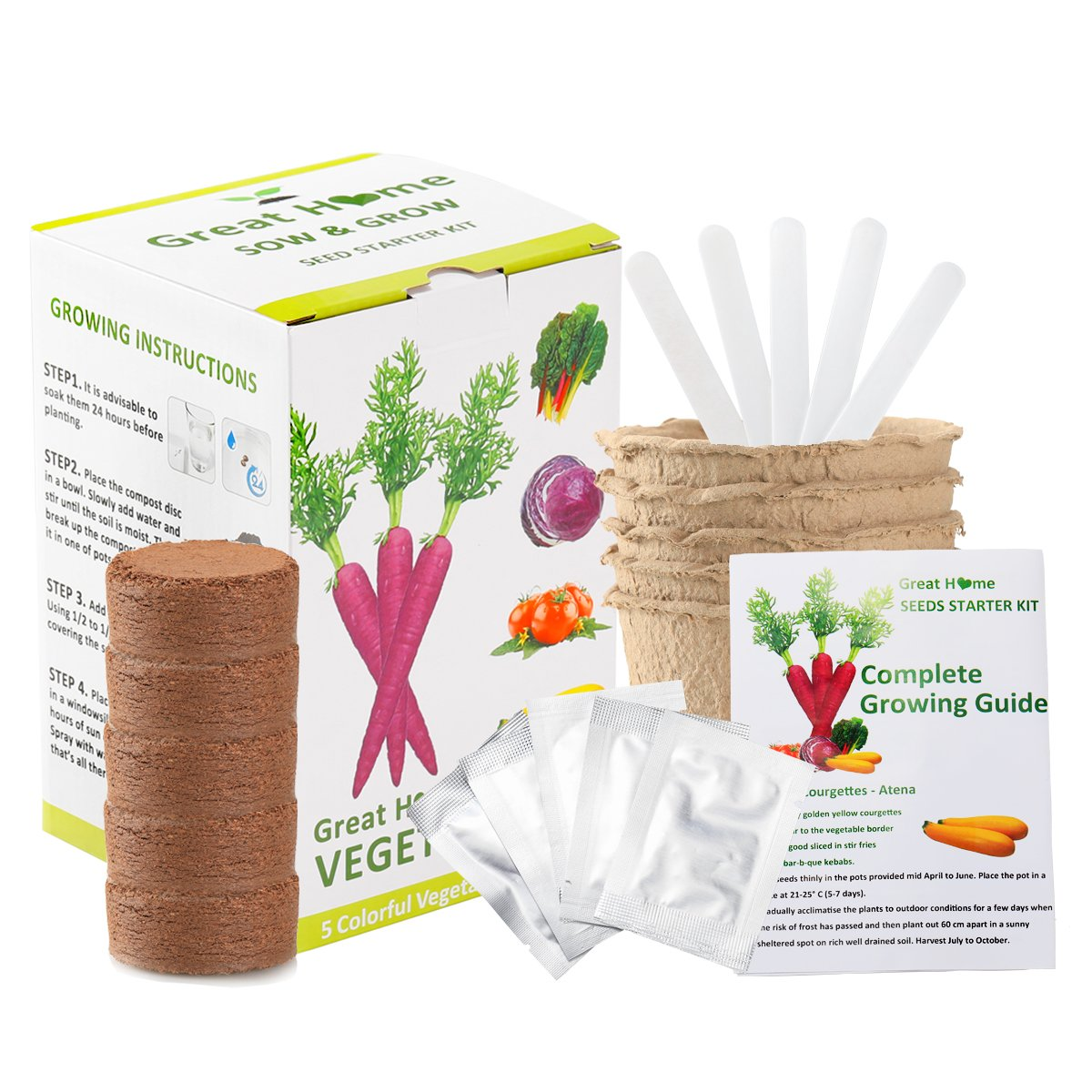 Magic Trio Peelers Set of 3 New Fruit & Vegetable Kitchen Starter Kit for Mom by Great Home (Ship From US)