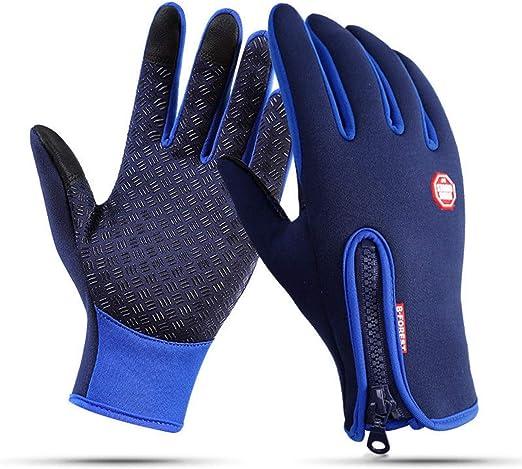 Men Women Winter Warm Gloves Windproof Waterproof Thermal Touch Screen Mitten