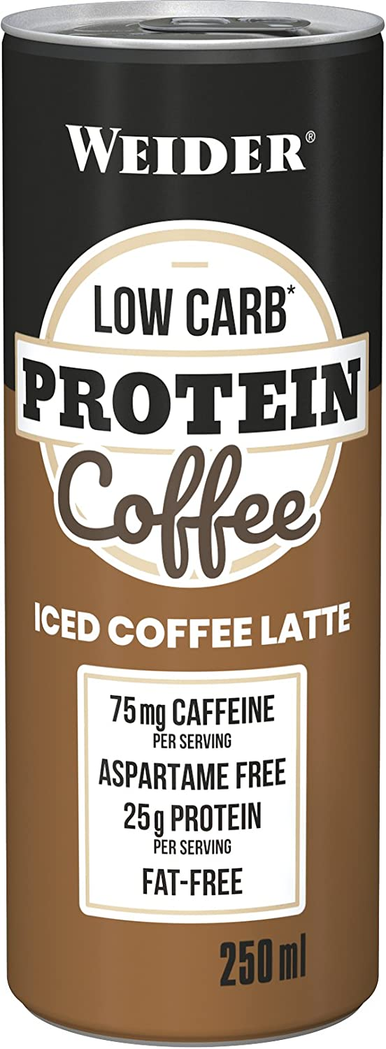 Weider Low Carb Protein Shake Iced Coffee Late 250 Ml - 400 g