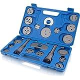 BITUXX 22 tlg. Universal Bremskolben Rückstell Set Kolbenrücksteller Rücksteller Kolben Bremse Werkzeug KFZ Auto PKW 22 Teilig