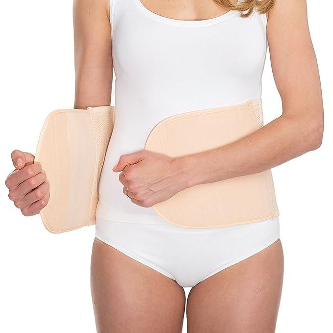42792cfd37a1 UpSpring Baby Shrinkx Belly Copertura di pancia del dopo parto - nastro di  pancia postnatale a magro e sostiene dopo bambino: Amazon.it: Abbigliamento