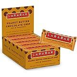 Larabar Gluten Free Bar, Peanut Butter Chocolate Chip, 1.6 oz Bars 16 Count (Pack of 5)