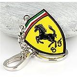 Dreamtao Fashion Metal Car Logo Keychain Key Chain Keyring Key Ring for Ferrari