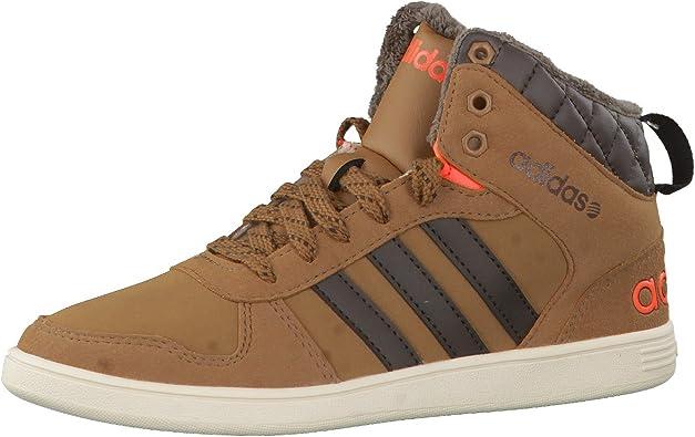 orquesta granero terciopelo  Amazon.com: adidas Originals Boys Kids Hoops WTR Mid Rise Trainers - 4US  Brown: Shoes
