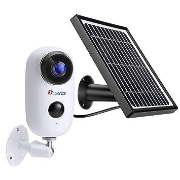 Camera Exterieur Solaire