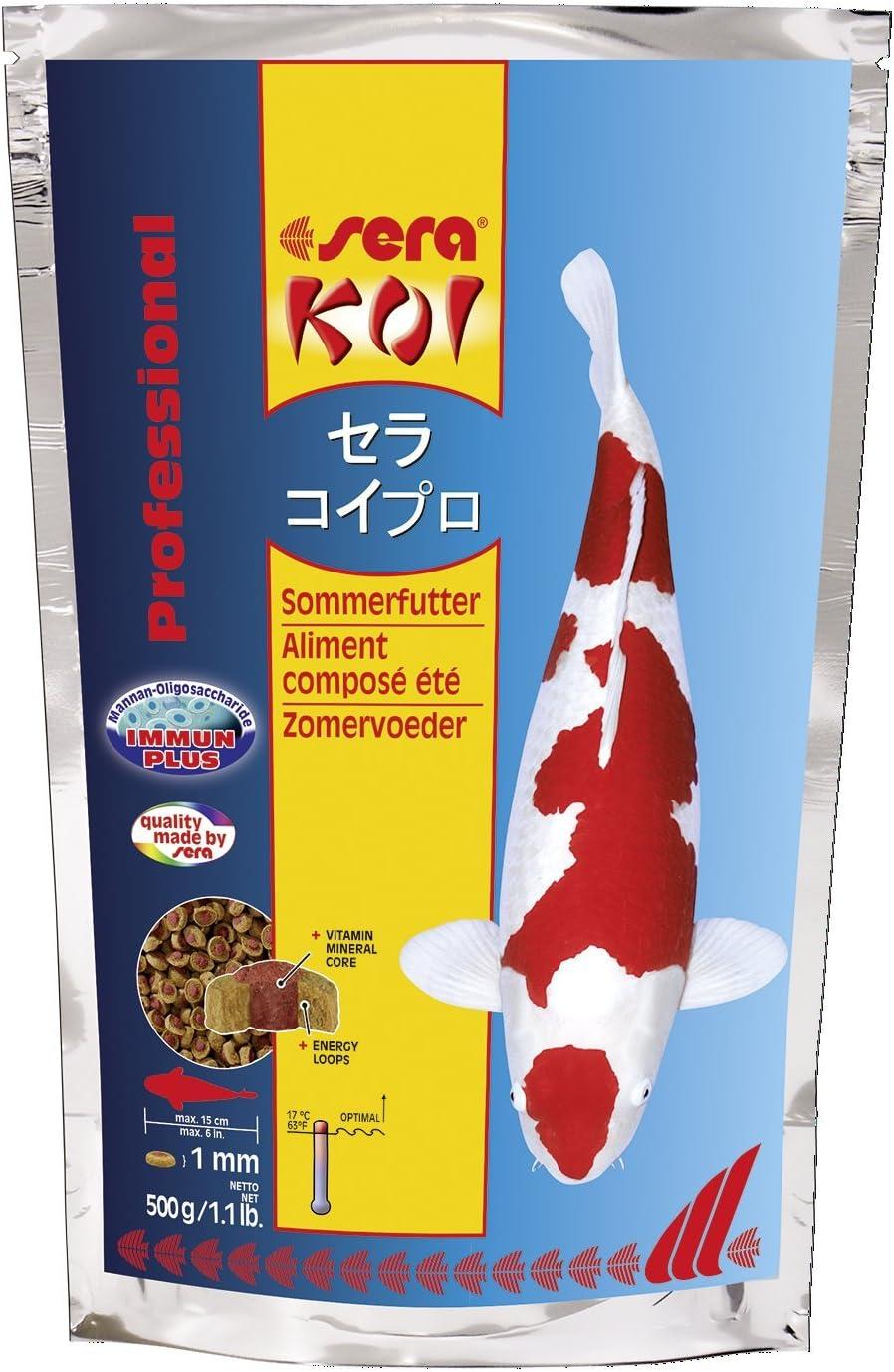 Sera 7014 KOI Professional Summer 1.1 lb 500g Pet Food, One Size