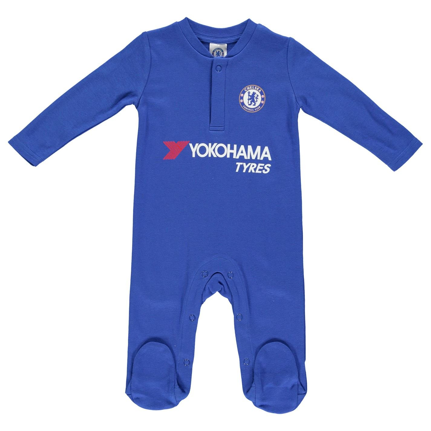 Chelsea FC Official Football Crest Baby Bodysuit