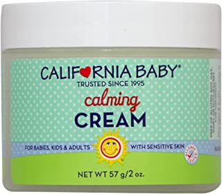 product image for California Baby Calming Moisturizing Cream (2 oz.) Hydrates Soft, Sensitive Skin | Plant-Based, Vegan Friendly | Soothes irritation caused by dry skin on Face, Arms and Body.
