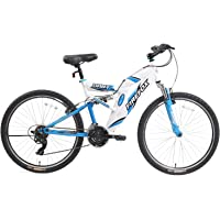 Firefox Bikes Dart 26T 21 Speed Mountain Cycle (White/Blue)