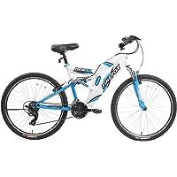 Firefox Bikes Dart 26T 21 Speed Mountain Cycle (White/Blue)