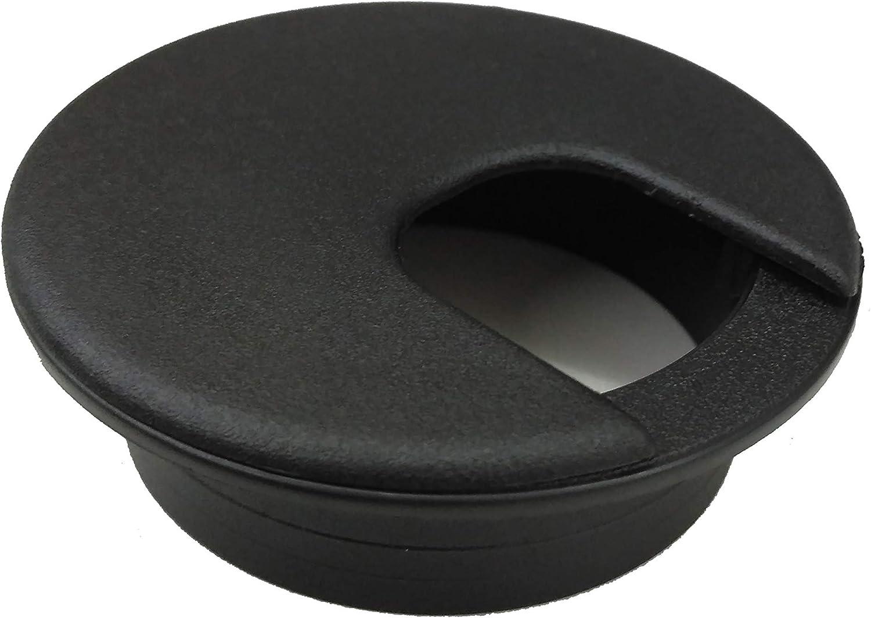 """Desk Grommet 2"""" Black (5 Pack)"""