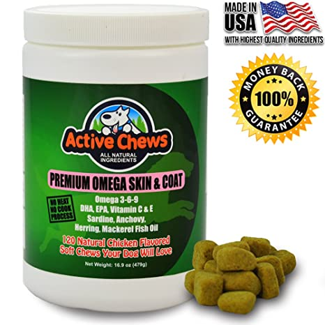 How much fish oil for dogs dry skin for How much fish oil to give dog