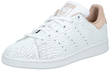 adidas Stan Smith W Scarpe da Fitness Donna, Bianco Ftwbla