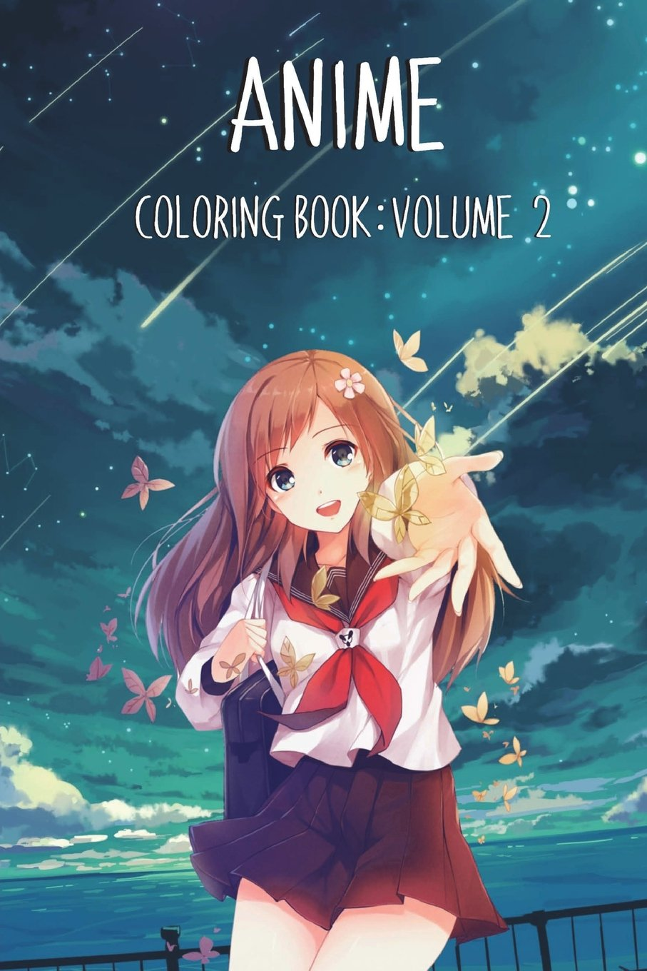 - Amazon.com: Anime Coloring Book: Volume 2 (9781722966171