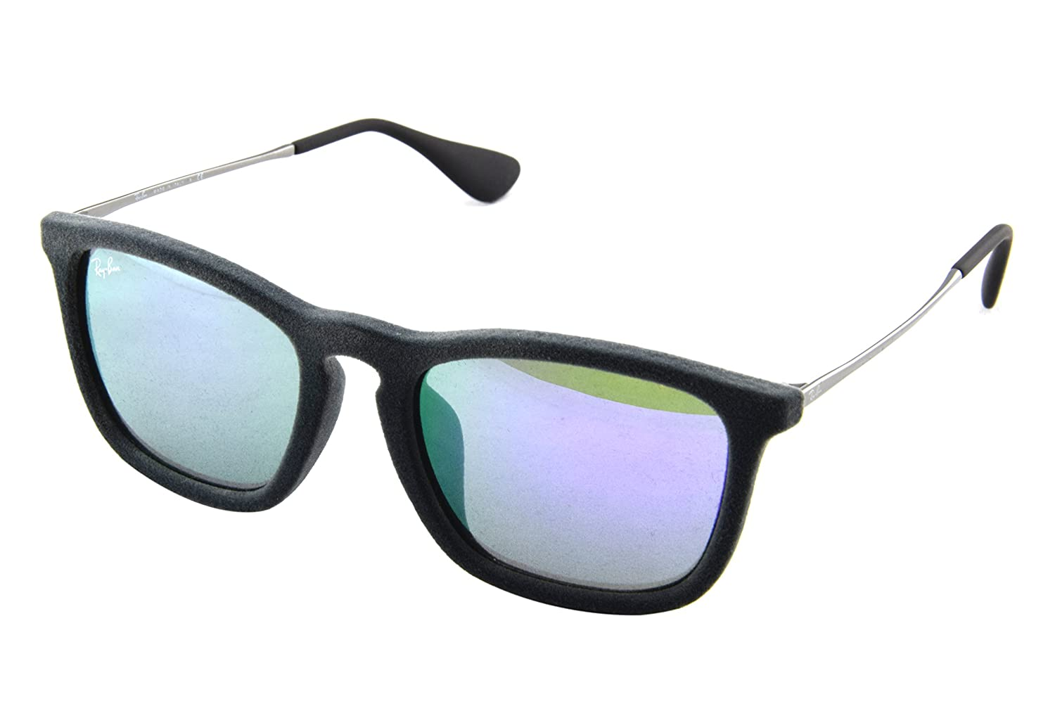 Amazon.com  Ray-Ban Chris RB4187F - 60774V Grey Velvet Sunglass  Shoes 8297077538
