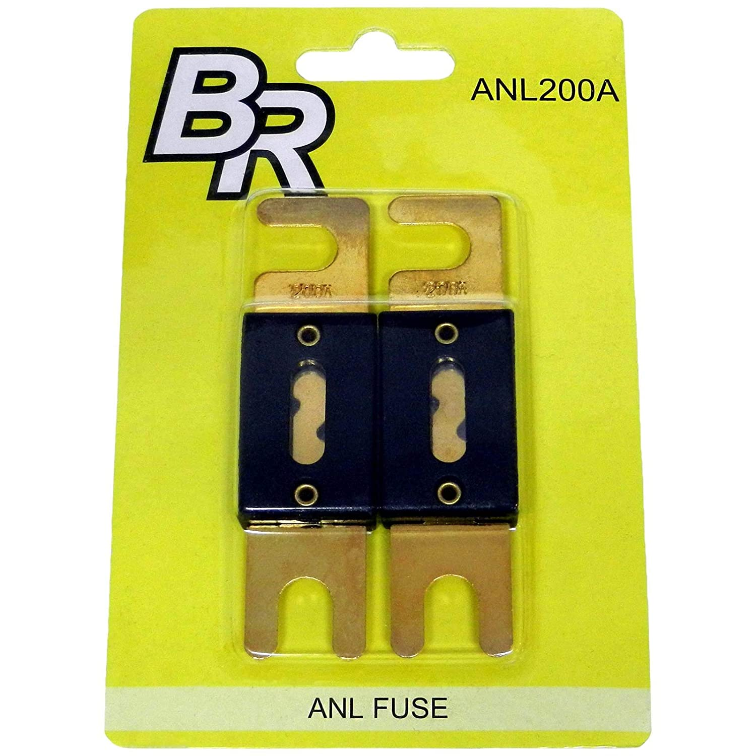 Bass Rockers 2 Gold Plated ANL Fuses 200A ANL200A