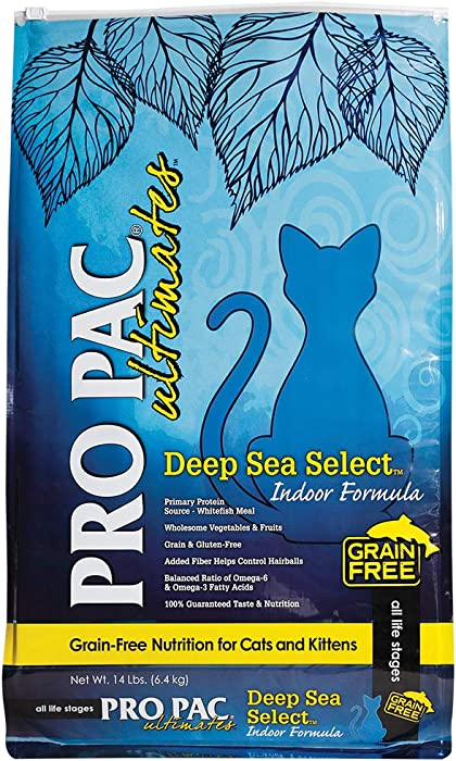 Top 8 Grain Free Cat Food Sea Bass