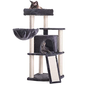 Amazon.com: Hey-bro - Árbol para gatos de varios niveles con ...
