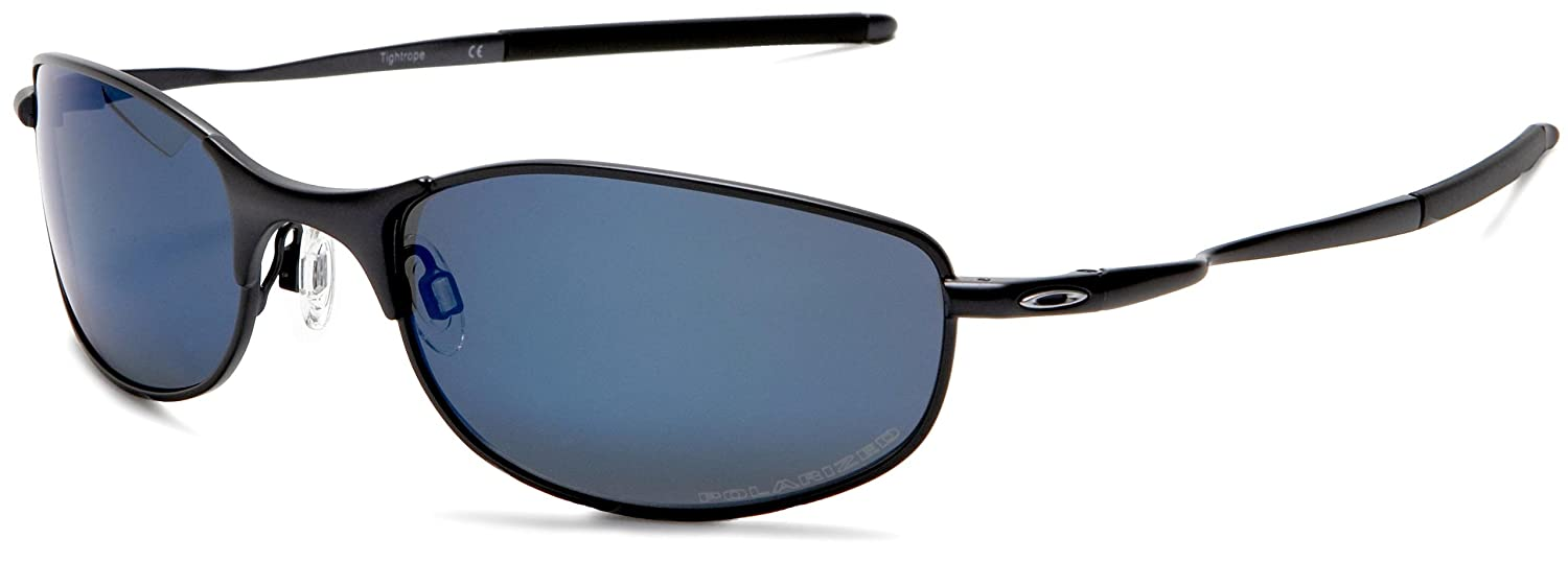 81354313e9 Amazon.com  Oakley Men s Tightrope Polarized Sunglasses