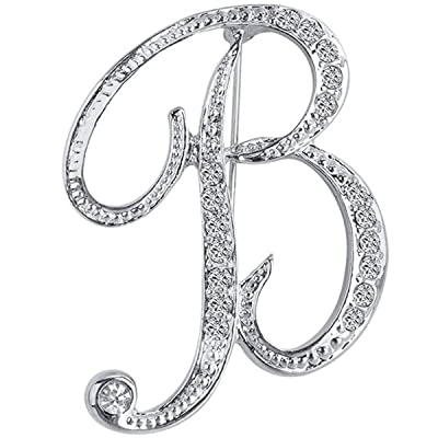 OPALSTOCK Name Brooch Pin Personalized Any Name Letters Brooch Custom Monogram Initial Bar Novelty Brooch Charm Commemorate Jewelry Pins