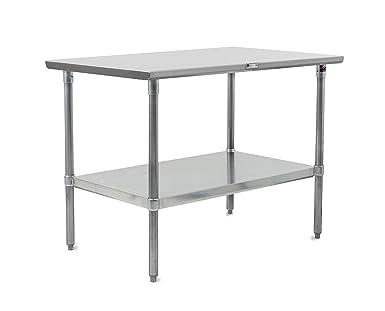 Amazon.com: John Boos Stallion mesa de trabajo de acero ...