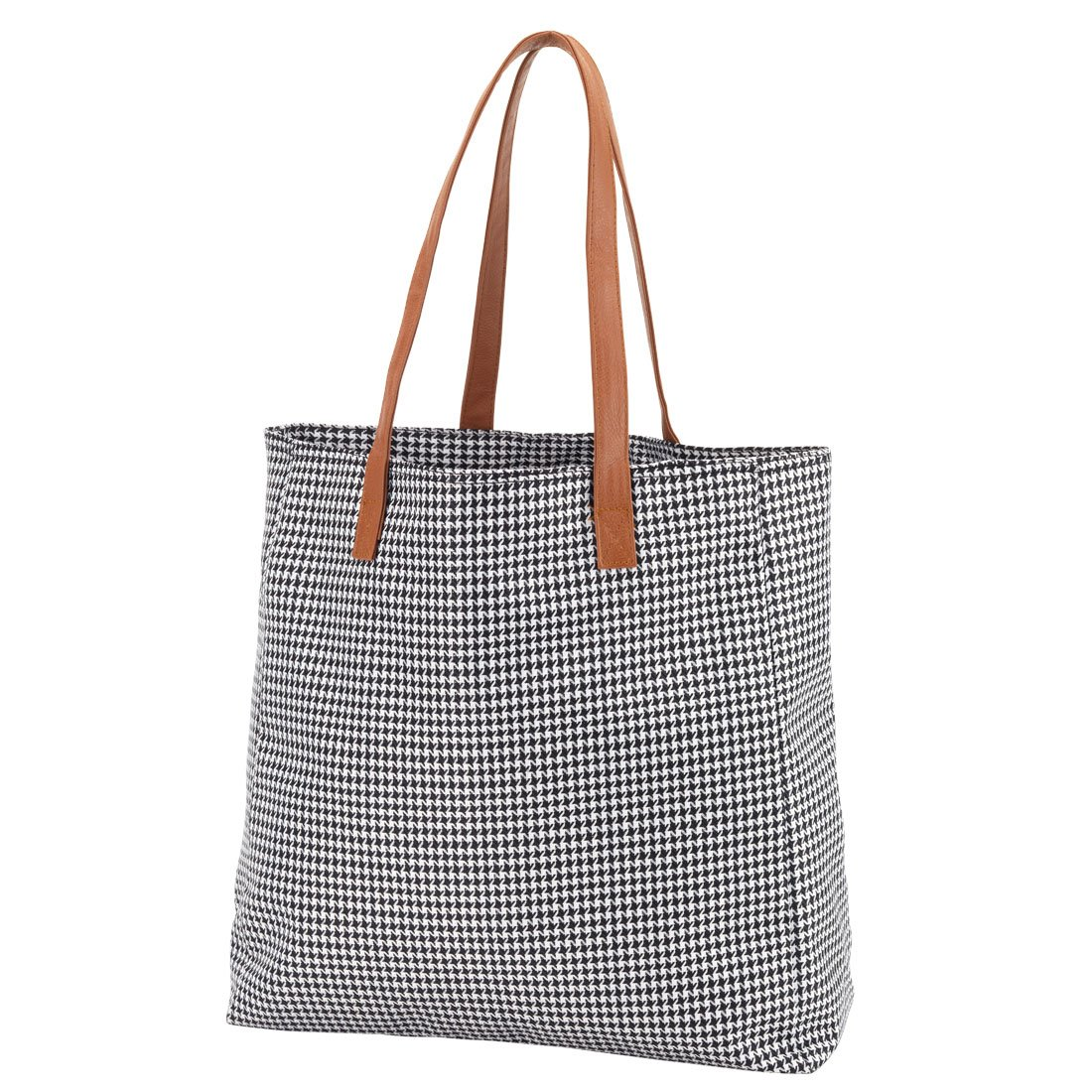 Amazon.com  High Fashion Houndstooth Check Tote Bag - Personalization  Available  Clothing 5da4e71d7b926