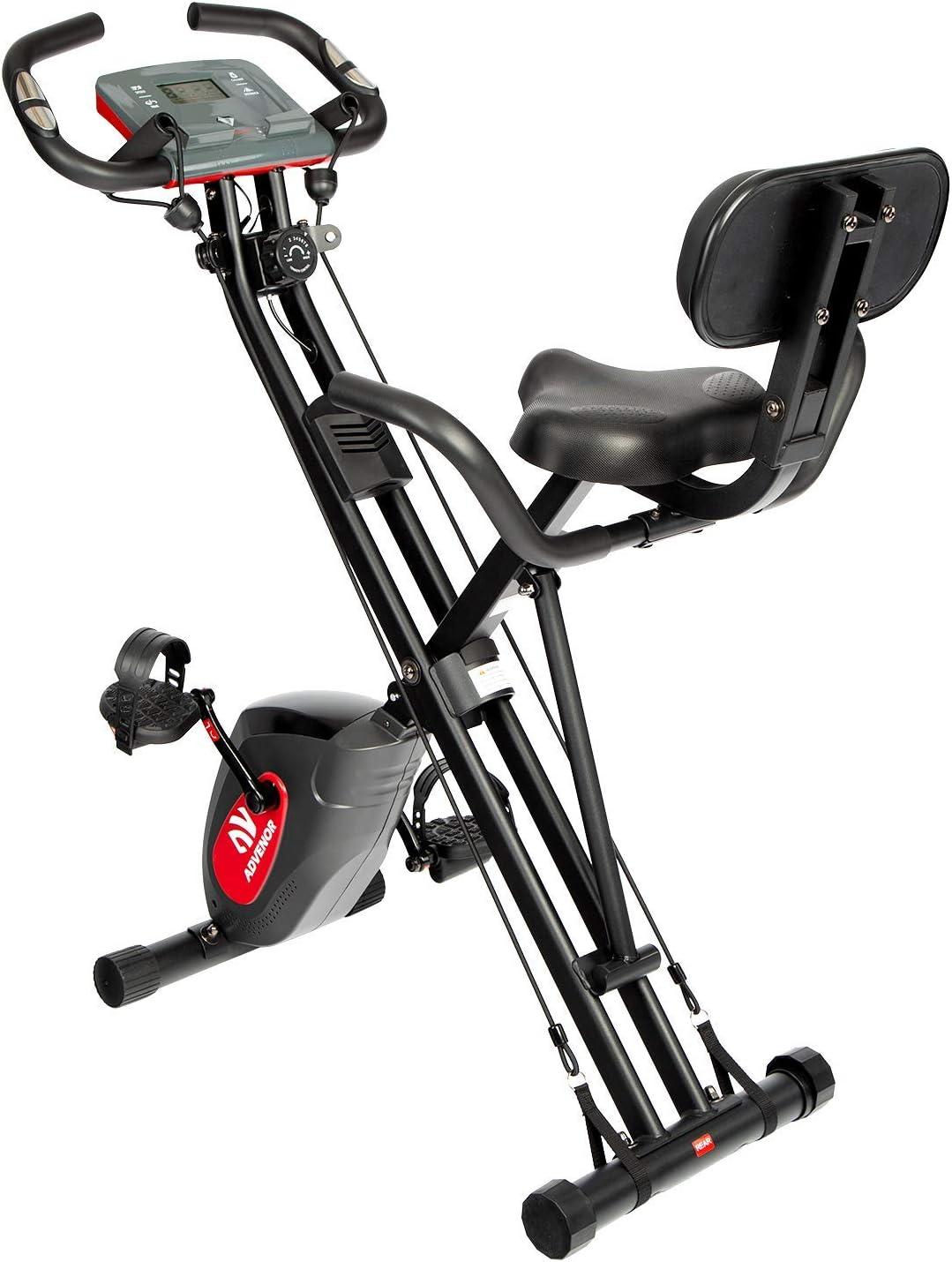 ADVENOR Exercise Bike Magnetic Bike Fitness Bike