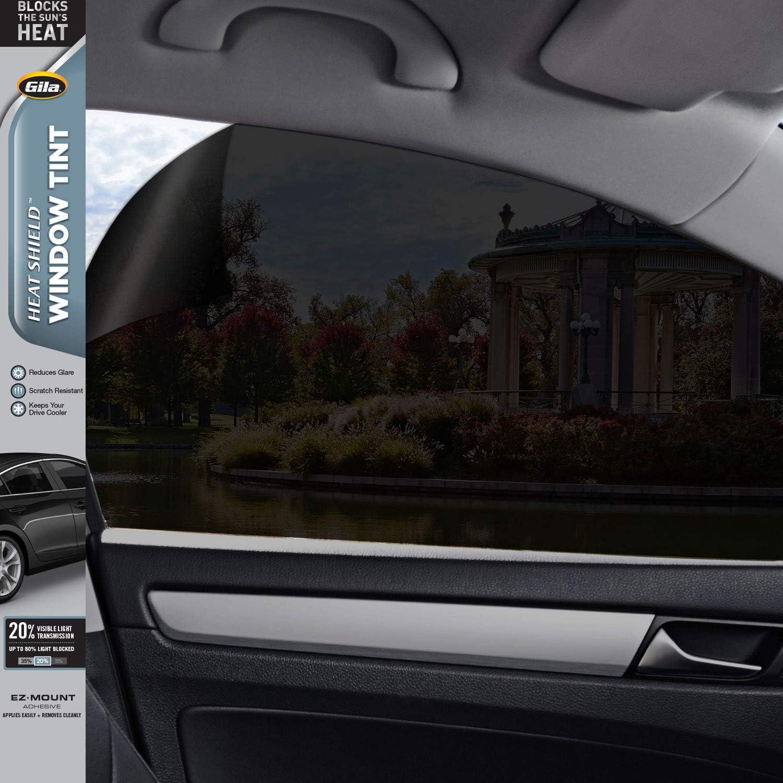 GILA HPB046 Heat Shield Dark Smoke 35-Percent VLT Scratch Resistant Automotive Window Tint