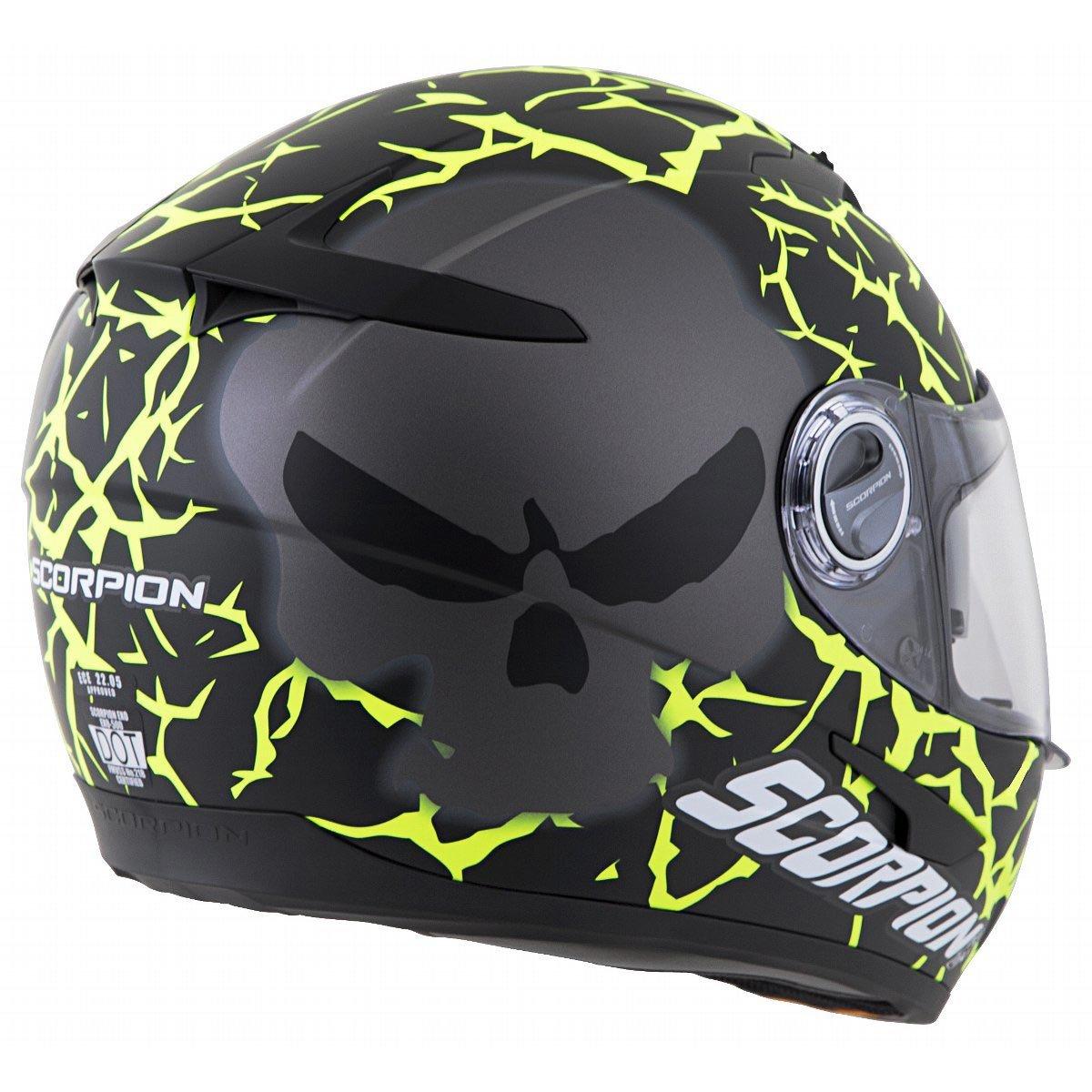Amazon.com: Scorpion exo-500 numbskull Street Casco para ...