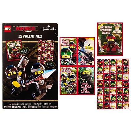 Amazon.com: Lego Ninjago – Tarjeta de felicitación de San ...
