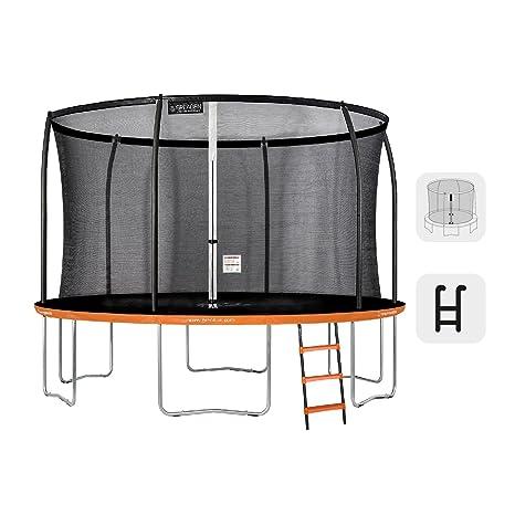 Greaden Freestyle Round Garden Trampoline 250 Pack Plus Scale