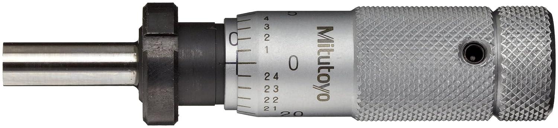 Plain Thimble Zero-Adjustable Thimble 0.001 Graduation Mitutoyo 148-507 Micrometer Head +//-0.0001 Accuracy Clamp Nut 0-0.5 Range Flat Face 0-0.5 Range 0.001 Graduation +//-0.0001 Accuracy
