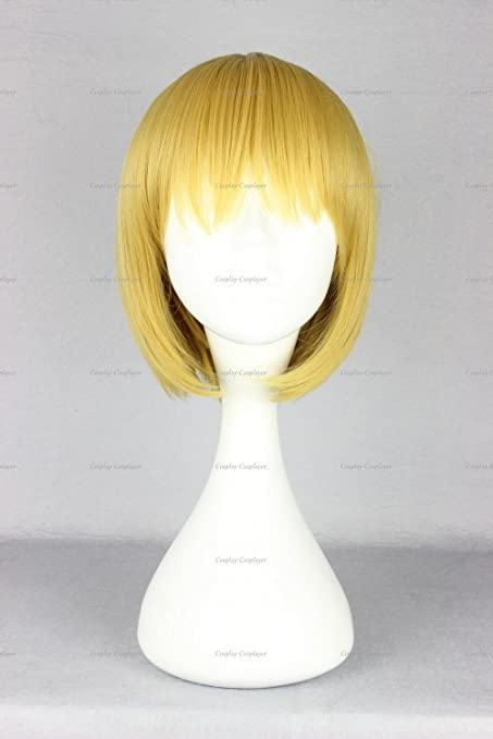 CosplayerWorld Cosplay Armin Arlert Attack on Titan Wig 30 CM 150 G WIG-365E by