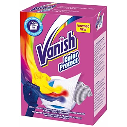 Vanish Color Protect • Color Catcher - 400 Sheets (20 x 20): Amazon ...