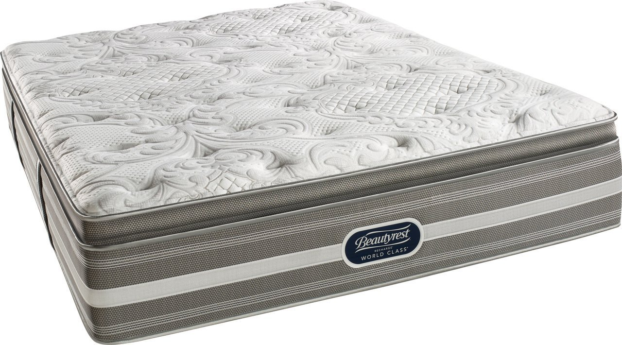 Beautyrest Recharge World Class Coral Firm Pillow Top Mattress