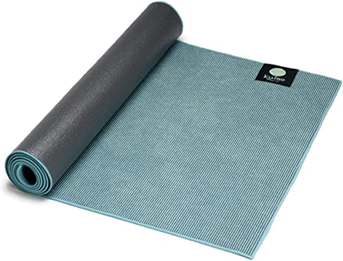 kulae Elite Hybrid 5mm – Non-Slip, Eco-Friendly, Recyclable, Hot Yoga Mat Towel Combo for All Types of Yoga, Pilates and Fitness, 72 x 24