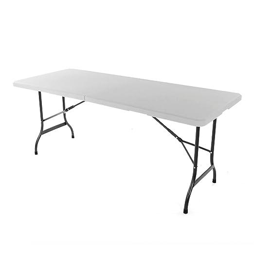 Mesa plegable Mesa de camping 183 cm Party mesa Catering mesa de ...