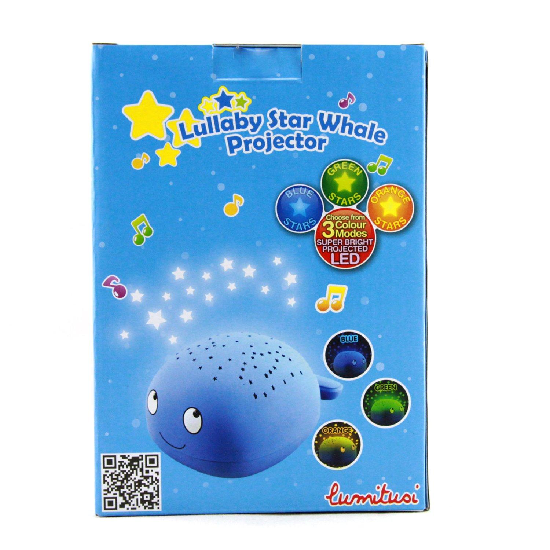 Lumitusi Der Kleine Prinz LED Sternenhimmel Projektor Einschlafhilfe mit Farbspiel Nachtlicht mit Sensor Touch als Kinderlampe Kinderlicht Nachttischlampe Nachtlampe f/ür Baby /& Kind im Kinderzimmer